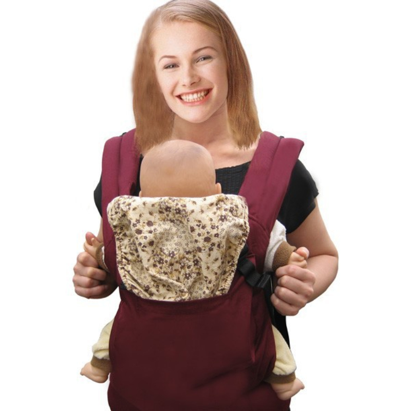 2-36 Months Breathable Front Facing Baby Carrier Ergonomic Carrier Sling Baby Wrap Carrier Front Adjustable Newborn Sling