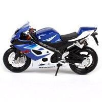 Maisto 1:18スズキgsx r1000オートバイバイク