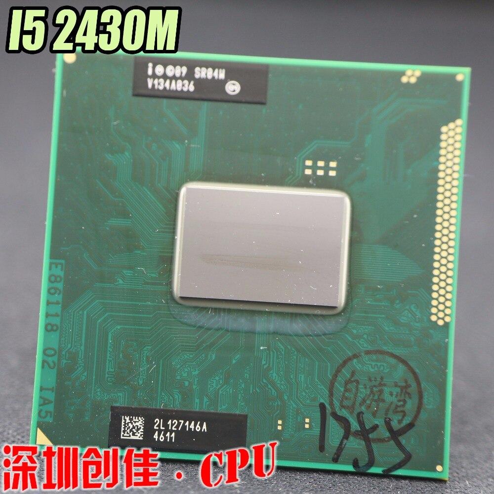 цена на Original Intel Core i5 Mobile cpu processor I5-2430M 2.4GHz L3 3M dual core Socket G2 / rPGA988B scrattered pieces i5 2430M