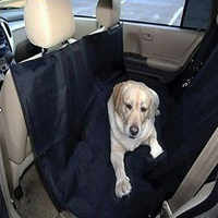Dog car seat cover Hammock Portable waterproof pet car seat cover blanket Black red blue colors one size.