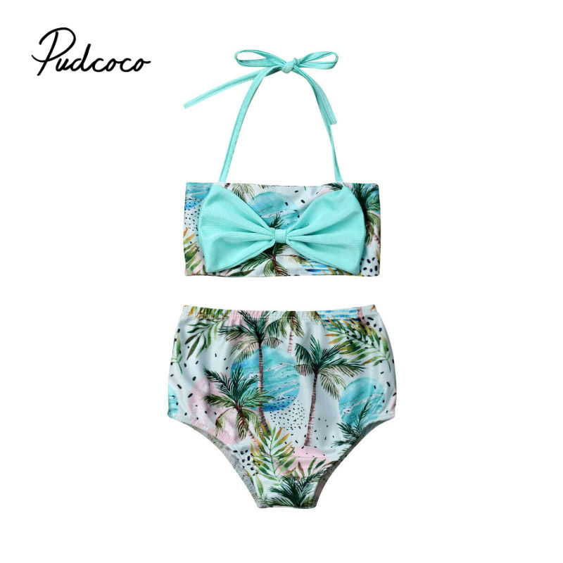 f9dd7d74f35f4 Swimsuit girls Summer Baby Clothes Girl Cute Toddler Kid Baby Girls Tassel Bikini  Set Bow-Knot Swimwear Swimsuit Bathing Suit