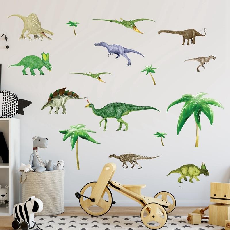 Dinosaurier Kinderzimmer   Zs Aufkleber 130 130 Cm 51 51 Zoll Dinosaurier Kinderzimmer Kinder