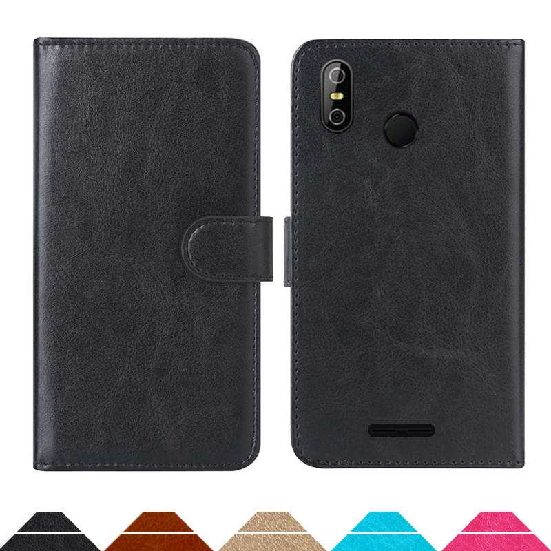Luxury Wallet Case For teXet TM-5583 Pay 5.5 3G PU Leather Retro Flip Cover Magnetic Fashion Cases Strap image