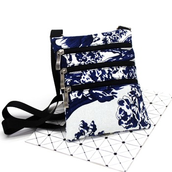 Vintage Jacquard cloth Casual Small Messenger Bag Women Shoulder Crossbody Bags Ladies Flap bags Female mini Hand bag Unisex #35