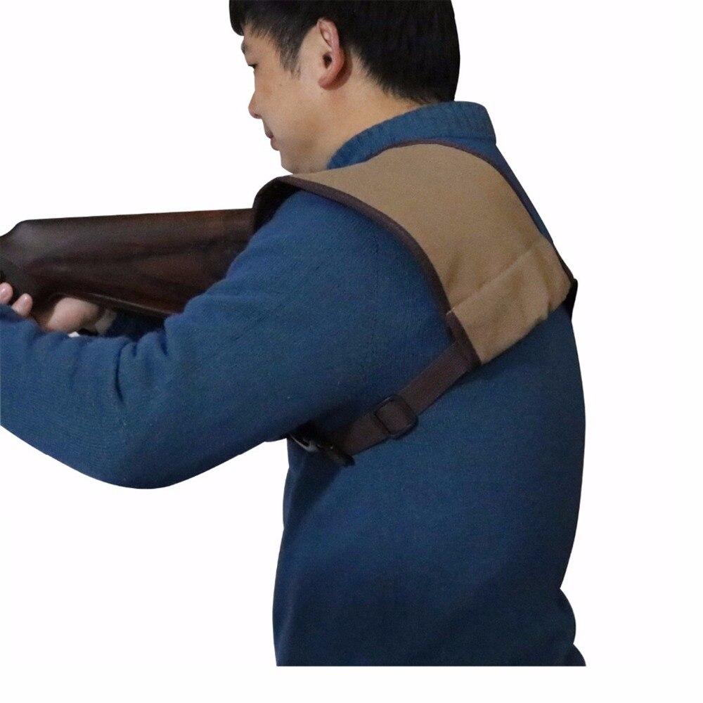Tourbon Arma de Tiro Shiled Recoil Rifle Escopeta Culata Almohadilla Protectora