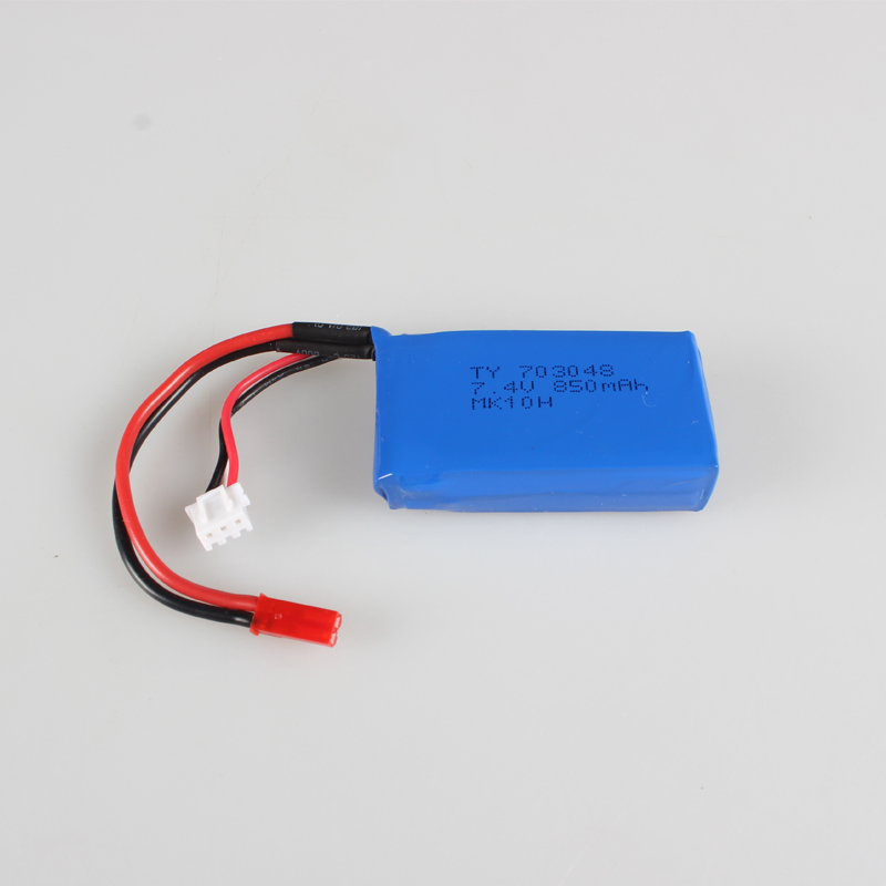 V912 V912-21 <font><b>2S</b></font> 7.4V <font><b>850mah</b></font> 1200mAh Battery WLToys WL SKY DANCER R/C Helicopter Spare Parts Accessories image