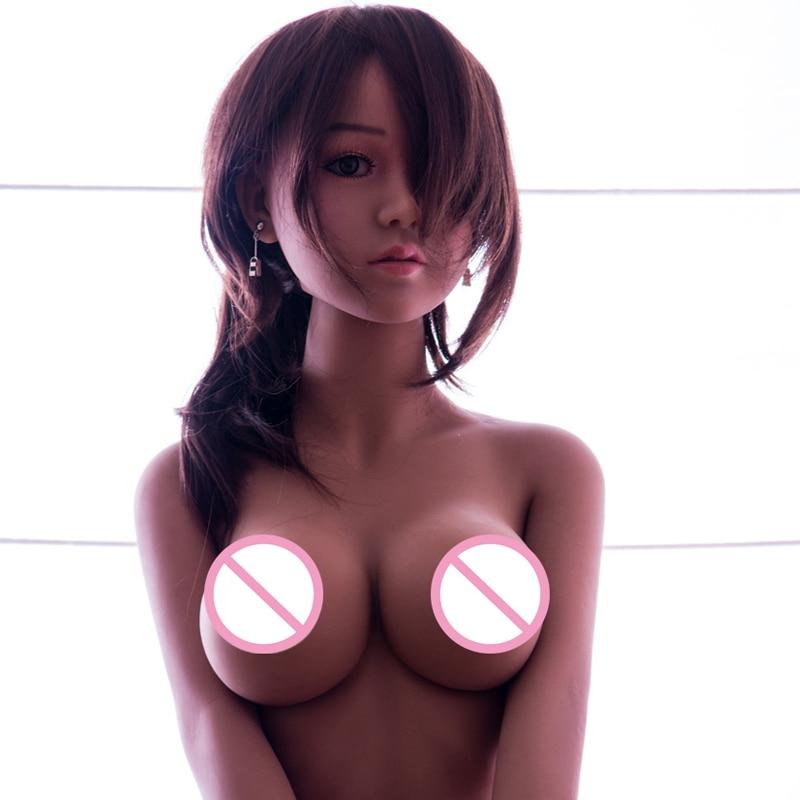 Simulazione Reale Bambole Del Sesso Del Silicone Per Adulti Giapponese Amore Toy Realistica Anime Orale Della Vagina Bambole Pieno Figa Grande Seno Per L'uomo bambola