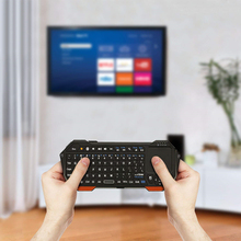 Mini Keyboard Wireless Bluetooth for Smart TV Tablet PC Smart Phone Projector Compatible IOS Windows Android TV Box Remote mini bluetooth remote keyboard for windows mac os linux android google smart tv backlit keyboard convenient operation in dark