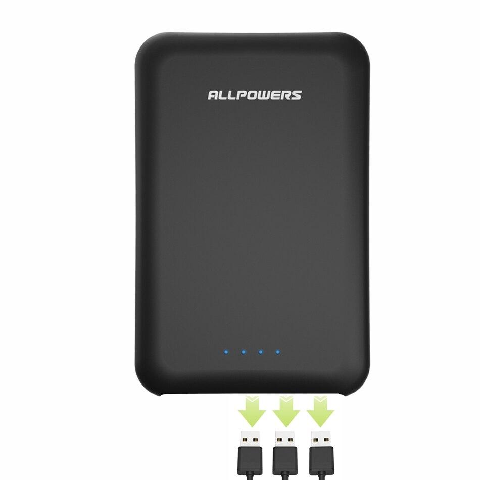 Batterie externe 30000 mAh chargeur de batterie externe de haute qualité Triple USB pour iPhone 5 5 s 6 6 s 7 8 plus iPhone X Xr Xs Xs max etc.