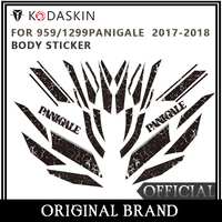 KODASKIN Motorcycle For DUCATI 959PANIGALE 1299PANIGALE 2017 2018 2D Fairing Emblem Sticker Decal
