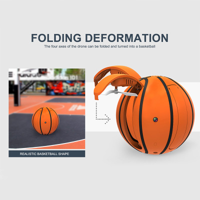 Creative Mini RC Folding Ball Drone with HD Camera 5