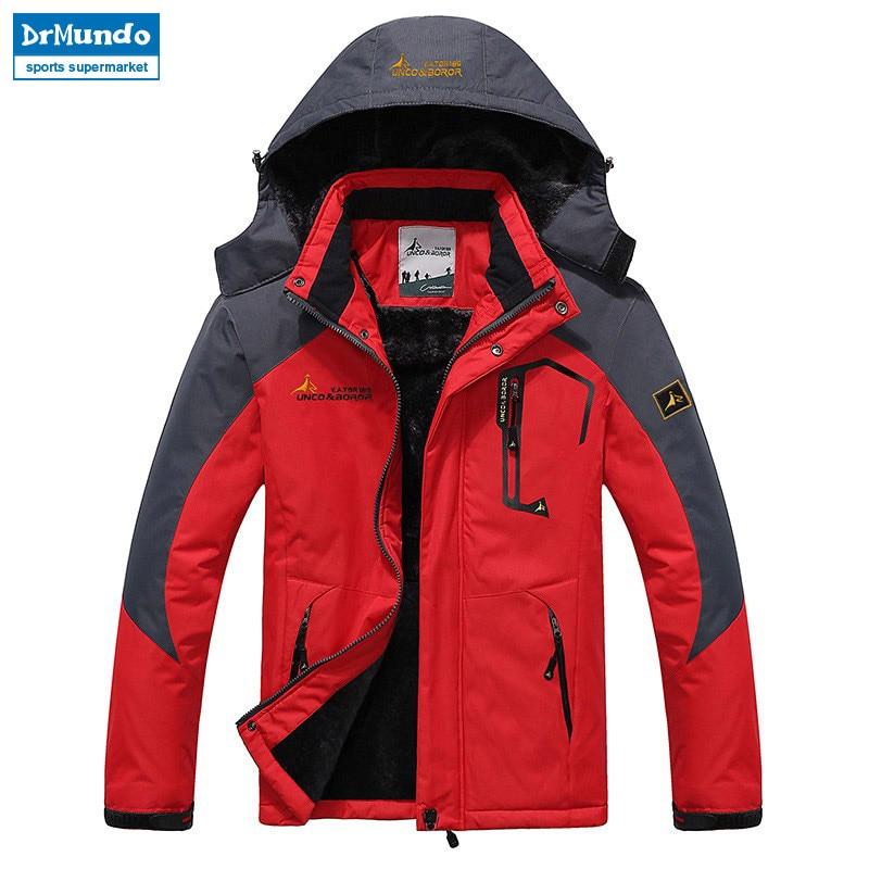 Veste de Ski homme imperméable polaire veste de neige manteau thermique pour extérieur Ski de montagne Snowboard veste grande taille marque - 4
