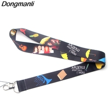 P3435 Dongmanli How I Met Your Mother TV Show Lanyard Badge ID Lanyards Neck Straps Chain Necklace Accessories