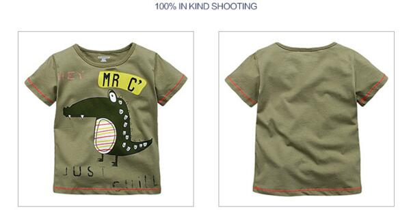 HTB1vniiQFXXXXbhXVXXq6xXFXXXL - Little maven brand children clothing 2017 new summer baby boy clothes short sleeve t shirt Cotton crocodile print tee tops 50711