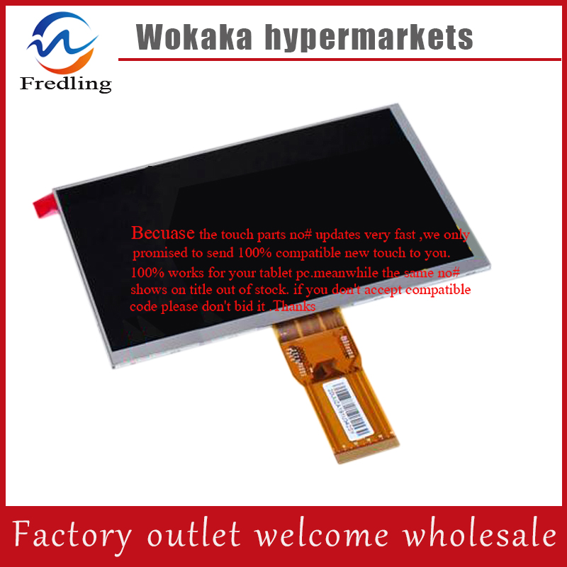 New LCD Display Matrix For SELECLINE 7 3G Dual core 853669 Tablet 164*97mm inner LCD Screen Panel Replacement Free Shipping suo lixin t8 dual core communication 3g lcd display screen screen qc750bg1