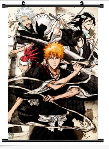 Bleach   Anime Wall Poster Scroll Cosplay
