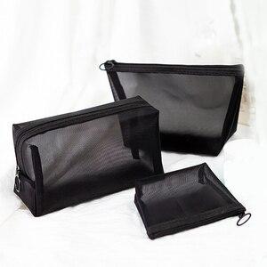 1PCS Women Men Necessary Cosmetic Bag Tr