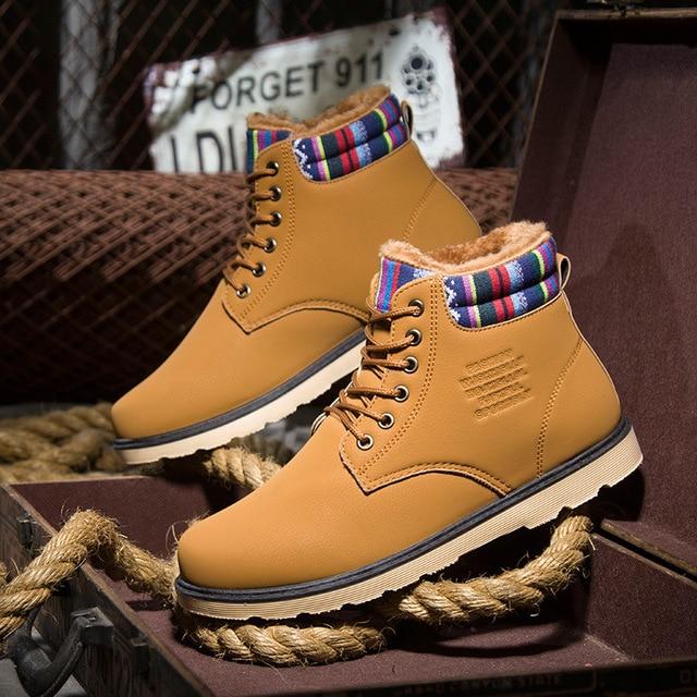 4fc9f3b82e 2017 Nuevo Invierno de Terciopelo botas de Martin Zapatos De Alta Moda Zapatos  Casuales Para Ayudar