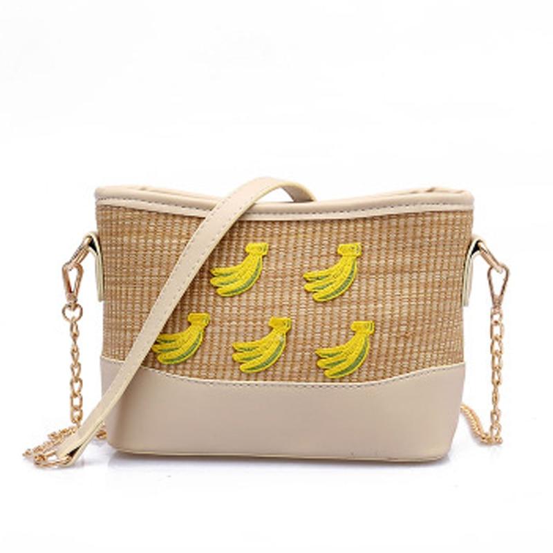 3c654bd661 Lebolong Women Straw Handbags Lady Fashion Style shoulder bags Girls Cheap  Handbag Small Vintage Messenger Bag Summer Beach Tote-in Shoulder Bags from  ...