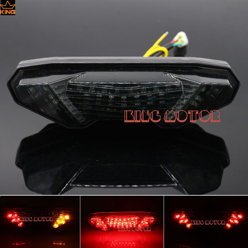 For YAMAHA MT-09 FZ-09 MT-09 Tracer/ Tracer 900 Tracer 700 MT-10/FZ-10 Integrated LED Tail Light Turn signal Blinker Smoke for yamaha fz 09 mt 09 fj 09 mt09 tracer 2014 2016 motorcycle integrated led tail light brake turn signal blinker lamp smoke