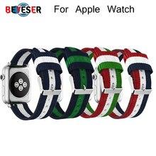 Ремешок нейлоновый для apple watch band 5 4 3 2 1 44 мм/40 мм