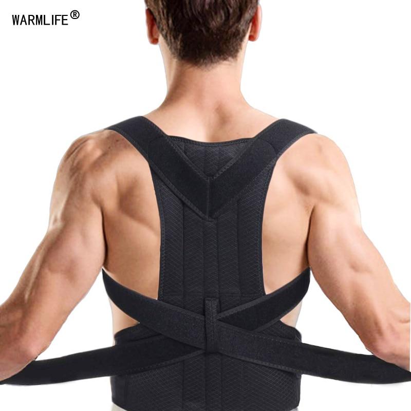 Posture Corrector Support Magnetic Back Shoulder Brace Belt For Men Women fc
