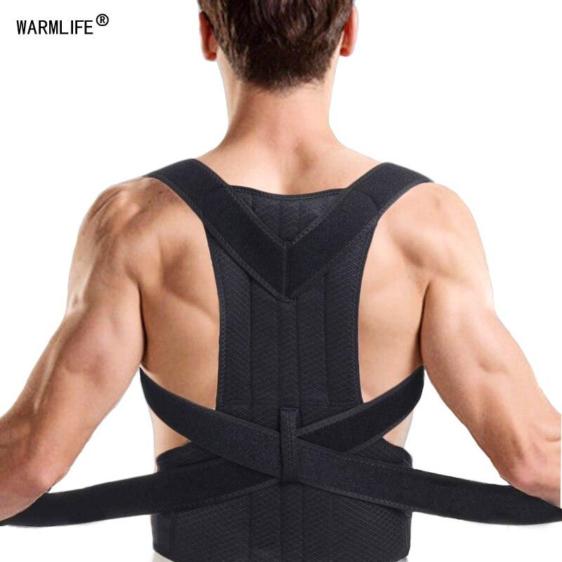 Orthèse soutien de l'épaule soin du dos Posture correcteur réglable clavicule sangle améliorer assis marche empêcher le Slouching pour les femmes hommes