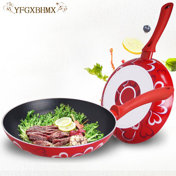 10.23 Inch Non-Stick Scratch-Resistant Forged Aluminum Home Mini Multifunctional Fried Egg Pancake Pot Steak Frying Pan