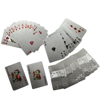 Cartes de jeu – Imitation argent