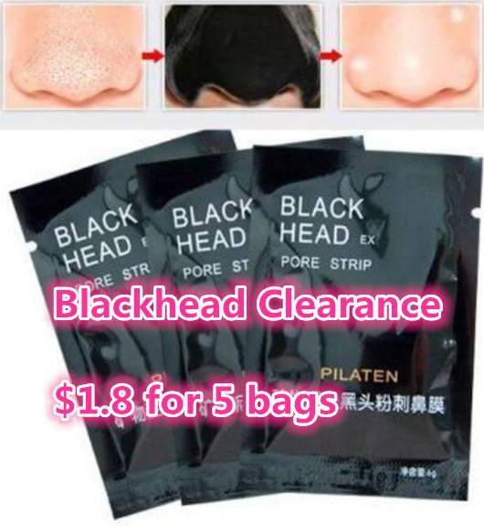 Blackhead clearance
