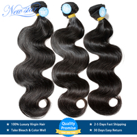 NEW STAR Brazilian Body Wave 10 34Inch 3 Bundles 100% One Donor Thick Virgin human Hair Weave Extension Unprocessed Hair Weaving