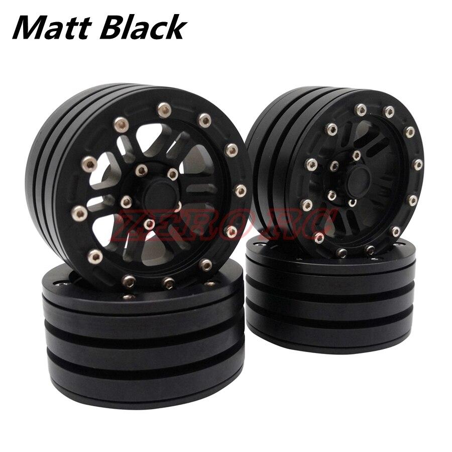 "4 x 1.9/"" Metal Beadlock Wheel for RC4WD D90 AXIAL SCX10 CC01 TRX-4 90046 RC Car"