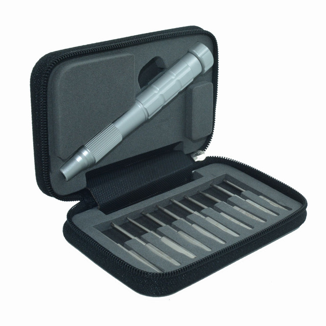 10 in 1 Precision Mini Screwdriver Bit Set for iPhone/marc pro/computers/digital products