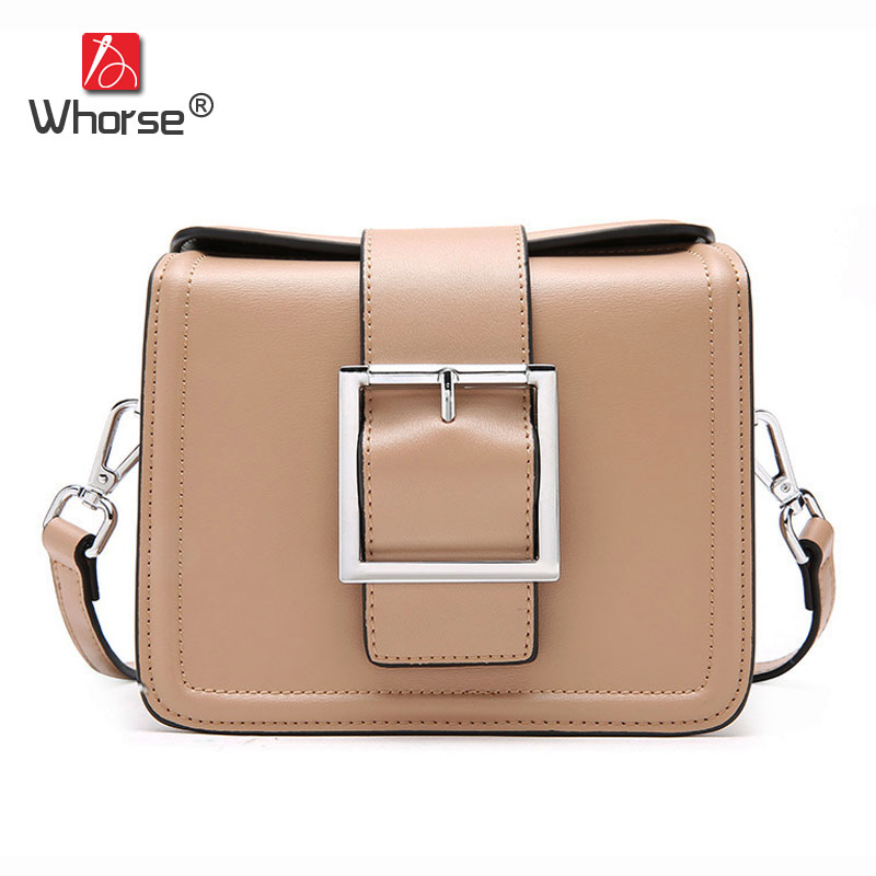 New Japan and Korean Fashion Style Genuine Leather Mini Flap Bag With Metal Ring Women Messenger Shoulder Bags For Girls W09050 new fashion women message bags with small purse metal ring handle leather handbag ladies girls trendy shoulder bag balestra