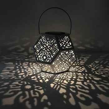 LED Solar Garden Light Hanging Shadow Lantern Decoration Lawn Lamp Outdoor Home Sensor Waterproof Solar Street Lamp