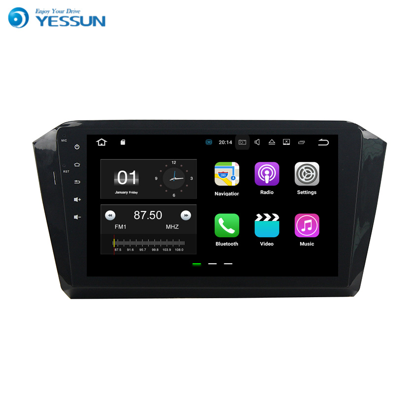 YESSUN Android Car Navigation GPS For VW Magotan 2016~2017 Audio Video HD Touch Screen Multimedia Player No CD DVD.