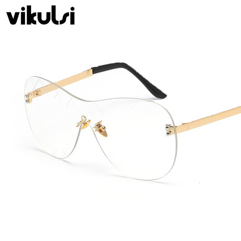 Online Get Cheap De Gran Tamaño Transparente Gafas Sin ...
