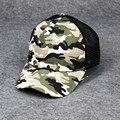 Europa para la venta de camuflaje snapback gorra de béisbol gorra de visera de malla sra. verano de los hombres al aire libre gorro de algodón m-101