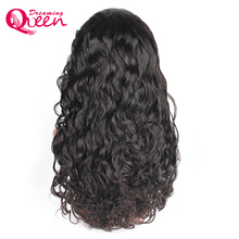 Brazilian Water Wave Glueless Lace Front Human Hair Wigs For Black Women Remy Hair Wig With Natural hairline Dreaming Queen Hair