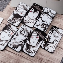 Naruto Phone Case For iPhone X 8 6 7 Plus Soft TPU Silicone Back Cover