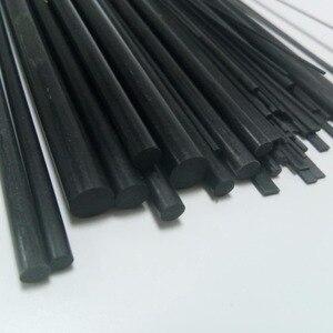 5 Pieces of Carbon Fiber Rods