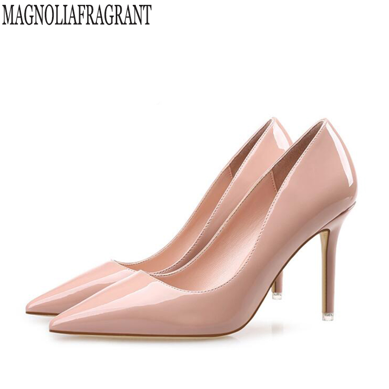 цены 2018 new Brand Shoes Woman High Heels Pumps elegant Women Shoes Heels Wedding Shoes Pumps Shoes Heels zapatos mujer k586