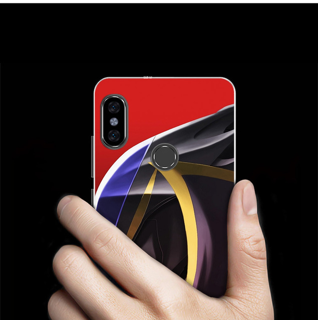 Code Geass Silicone Case For Xiaomi (23 Types)