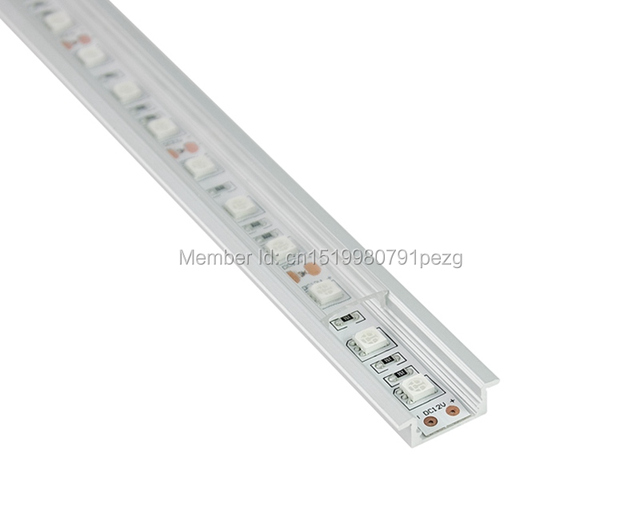 10 x 1M Sets/Lot T type Anodized led lichtleiste alu profil and ...