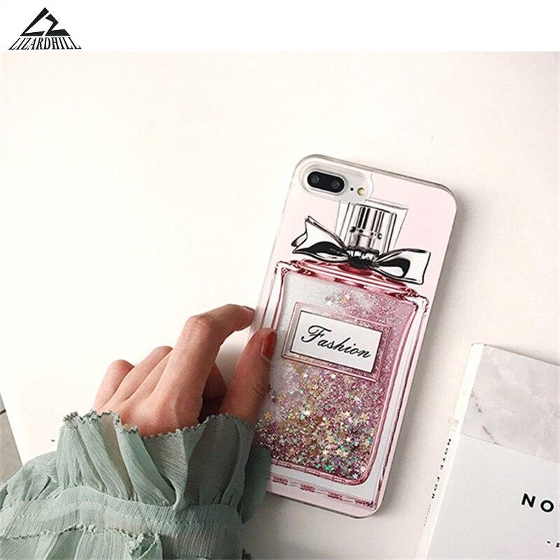 coque iphone 8 plus bouteille de parfum