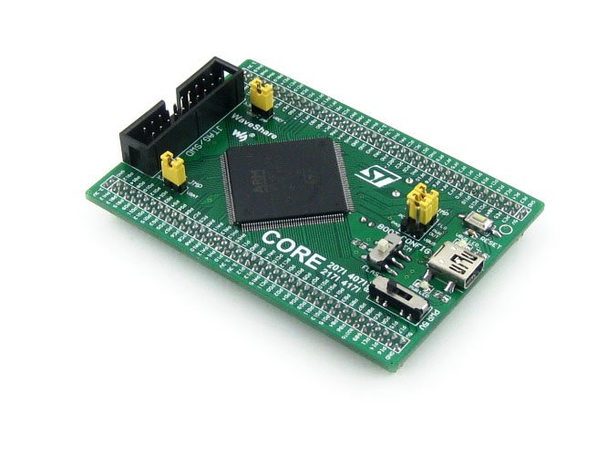 STM32 Board Core407I STM32F407IGT6 STM32F407 ARM Cortex-M4 STM32 Development Core Board with Full IOs black plastic ads iar stm32 jtag interface jlink v8 debugger arm arm7 emulator cortex m4 m0