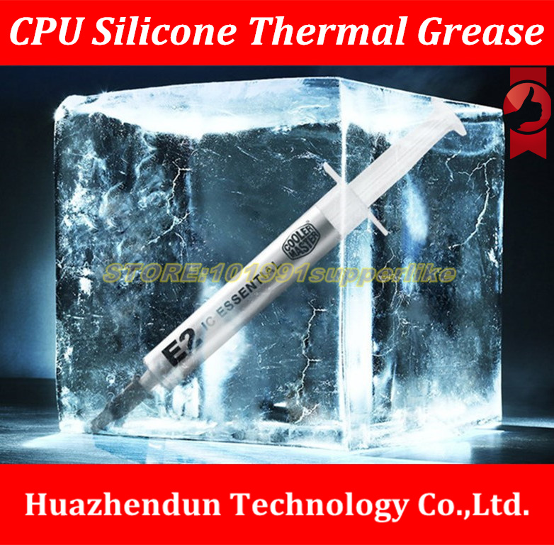 NEW ARRIVALS 1PCS  CPU Thermal Grease Silicon , laptop silicone grease,Liquid metal E2 liquid silicone grease 73w mk grizzly bear liquid metal for thermal grizzly conductonaut 1g diy silicon grease for cpu gpu graphics card easy to cool