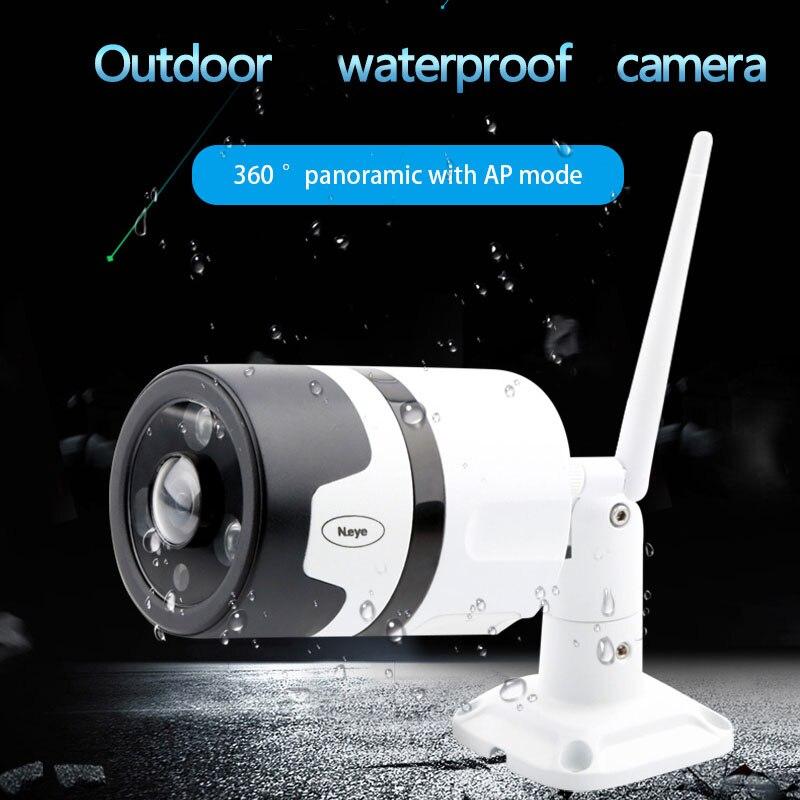 N_eye IP Kamera Im Freien Wasserdichte HD 1080 p CCTV Kamera WiFi 360 Panorama Sicherheit Außen IR Vision Drahtlose Wifi Kamera c30