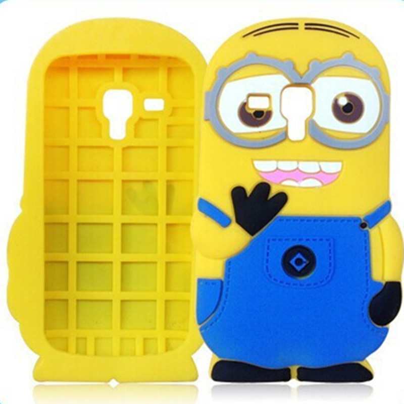 uk availability e7224 b7c6f US $3.99  G530h Minion Capa For Samsung Galaxy Grand Prime Cases Despicable  Me2 Silicone Cover Case For Samsung Galaxy Core Prime G360h on ...