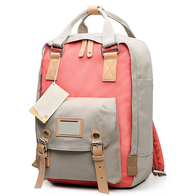 Teenage Girls Kanken Backpack Student Canvas Travel Laptop Bag Women Casual School Bags Mochila Stacy Bag Patchwork Rusksack 2016 new style canvas leather patchwork fashion student school stachel book 15 inch travel shopping laptop computer backpack bag
